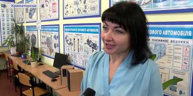 Вбудована мініатюра для У Краматорську можна отримати професію водія тролейбуса